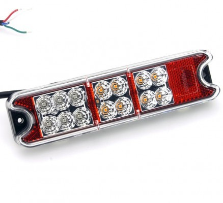 Universal LED All In One Rear Light Unit With Built In Reflector (Pair)