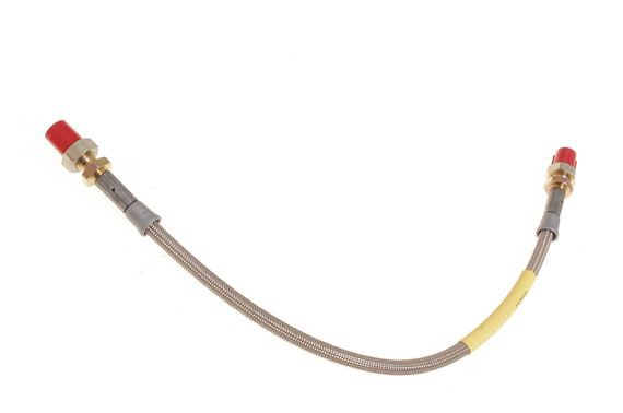 Universal Braided Brake Line with M10 x 10mm Fittings (Single)
