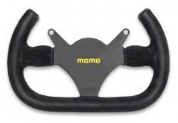 MOMO MOD 101 Steering Wheel 290mm Black Suede