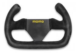 MOMO MOD 12C Steering Wheel 250mm Black Suede