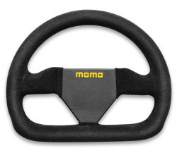 MOMO MOD 12 Steering Wheel 250mm Black Suede