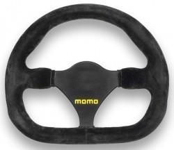 MOMO MOD 27 Steering Wheel 290mm Black Suede