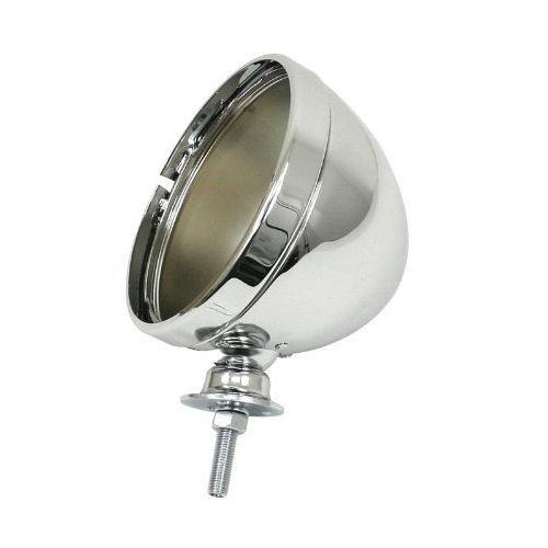 "Universal 5.75"" Single Headlight Shell - Stainless Steel"
