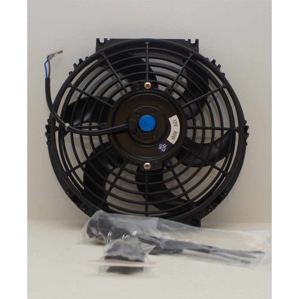 "Universal Slimline 9"" Electric Cooling Fan"